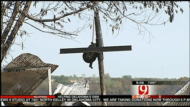 Payne County Residents Return To Wildfire-Damaged Homes
