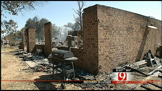 Luther Residents Cope With Heartbreaking Loss After Grassfire