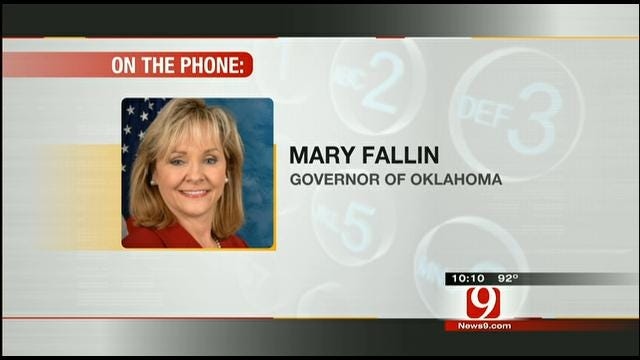 Governor Fallin Talks About Wildfire Response Plan