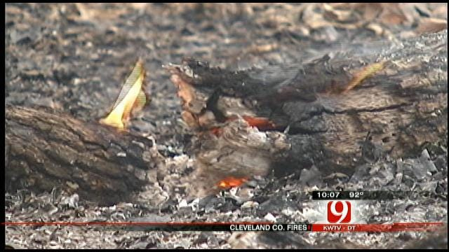 Multiple Fires Ravage Cleveland County Area
