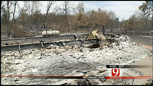 Cleveland County Learning Damage Toll As Fires Die Down