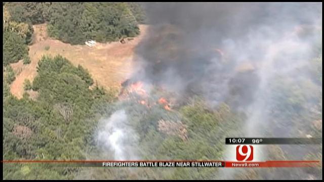Stillwater Area Fire Threatens Homes