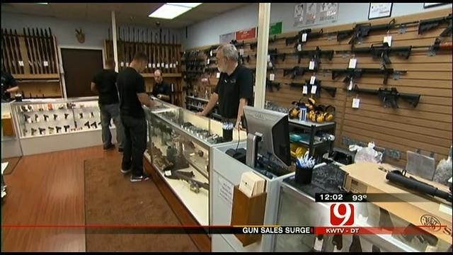 Gun Sales Rise In Oklahoma Following Colorado Massacre