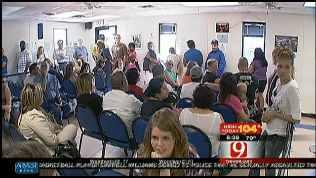 Oklahoma Drivers Frustrated Over Long Lines At DPS