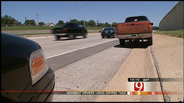 Oklahoma Driver Caught Violating Tag Laws