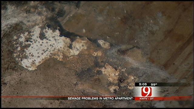 OKC Mom Looking For Answers After Flooding At Rental Home