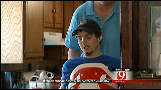 OKC Teen, Paralyzed After Shooting, Released From Hospital