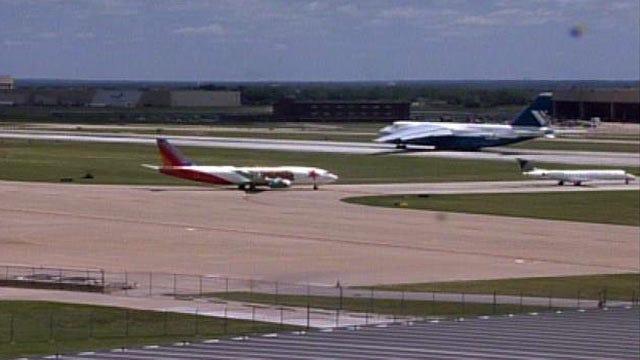 WEB EXTRA: Antonov An-124 Takes Off At Tulsa International Airport