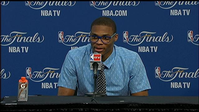 Kevin Durant and Russell Westbrook Postgame Comments