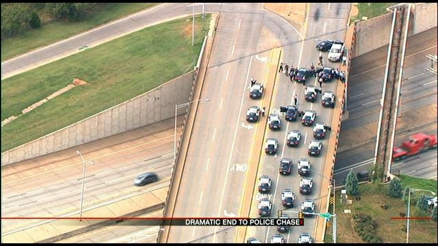 OKC High-Speed Chase Suspect Wanted For Impersonating An Officer