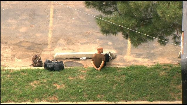 SkyNews 9 Shows Arrested Man With Alleged Explosives In SW OKC