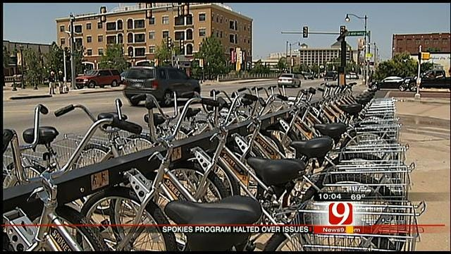 OKC Bike Rental Program Suspended Amid Security Woes