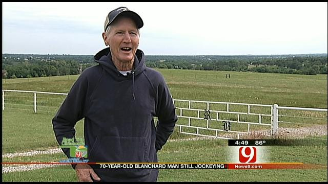 News 9 Speaks To 70-Year-Old Horse Jockey From Blanchard
