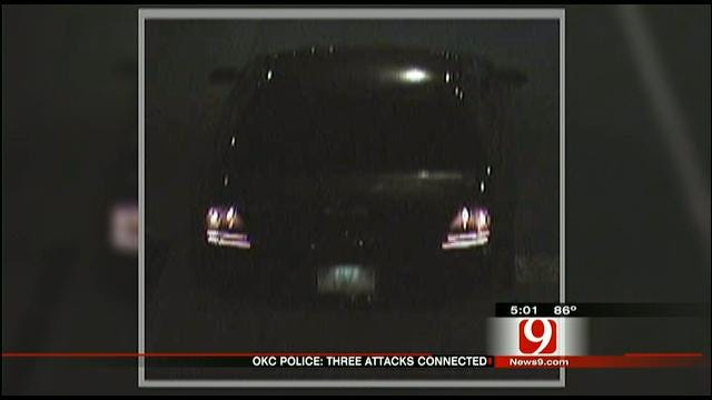 OKC Police Release Photo Of Car Connected To Shootings, Robberies