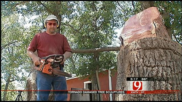 Tornado-damaged Trees In Norman Could Get Artistic Makeover