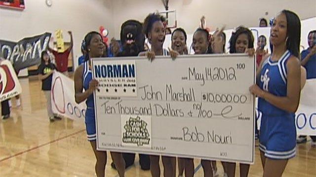 John Marshall Celebrates Big Cash For Schools Win
