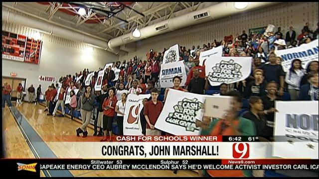 John Marshall Takes Home $10,000