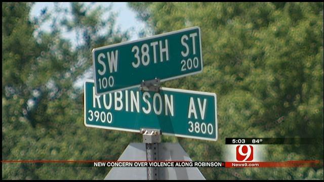 Robinson Street Crime Plagues OKC Neighborhood