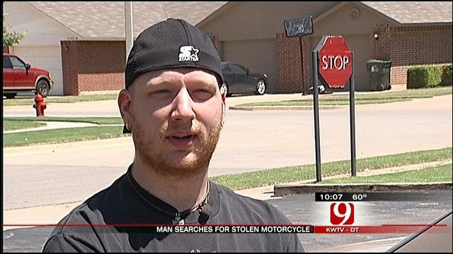 Oklahoma Soldier's Motorcycle Stolen At Norman Home