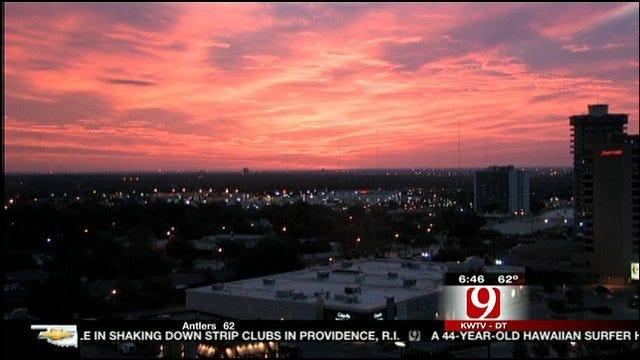 Friday Morning's Beautiful Sunrise