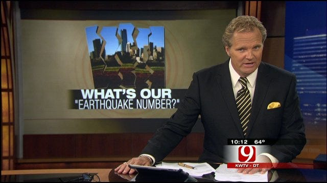 What's Oklahoma's Earthquake Number?