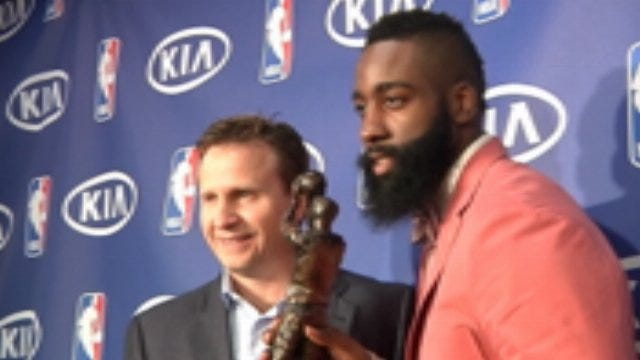 James Harden Named Sixth Man Of The Year
