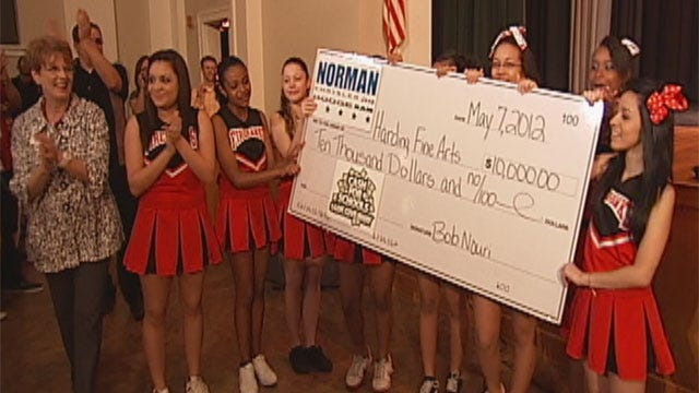 Harding Fine Arts Wins Cash For Schools Giveaway
