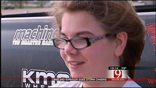 Tornado Survivor Lives Dream To Storm Chase