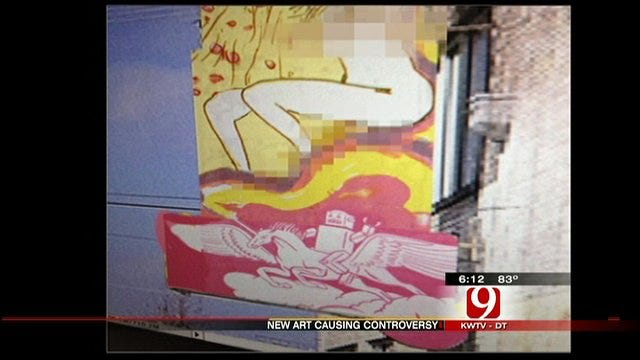 Flaming Lips Singer Wants Controversial Painting Outside OKC Gallery
