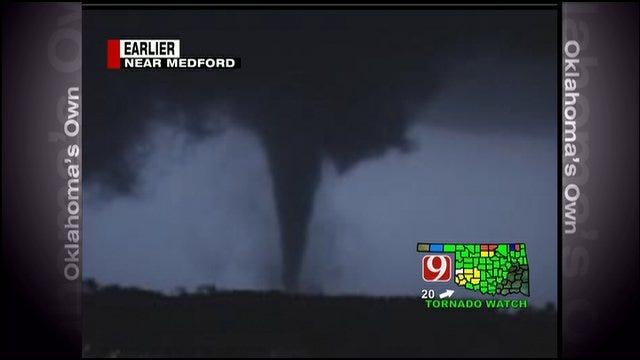 Tornado Touches Down Near Medford