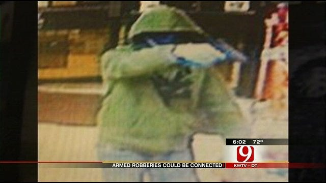 OKC Super Mart Robbery Suspect May Be Linked To 2 Mustang Robberies