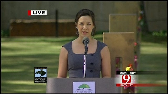 Remembrance Ceremony: Daughter Of Bombing Victim Speaks About Education