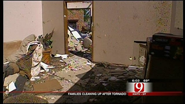 Woodward Families Share Stories Of Survival In Tornado