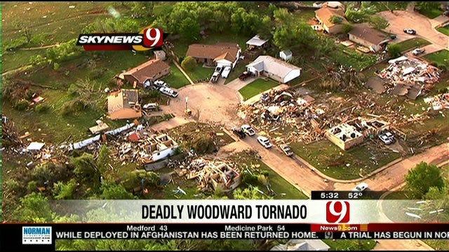 Sixth Victim Confirmed In Woodward Tornado