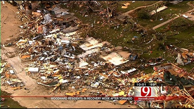 Massive Damage, Fatalities After Tornado Strikes Woodward
