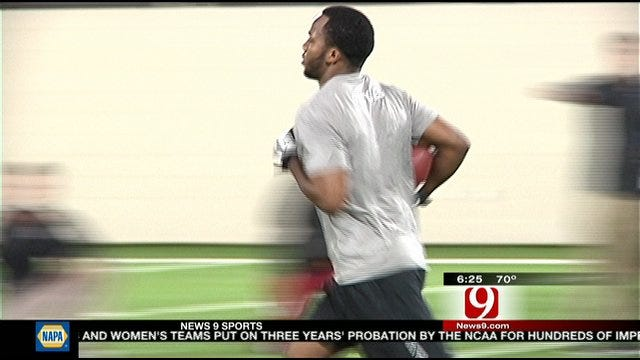 Ryan Broyles Holds Pro Day In Norman