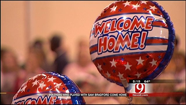 Soldier Who Played Football With Sam Bradford Comes Home