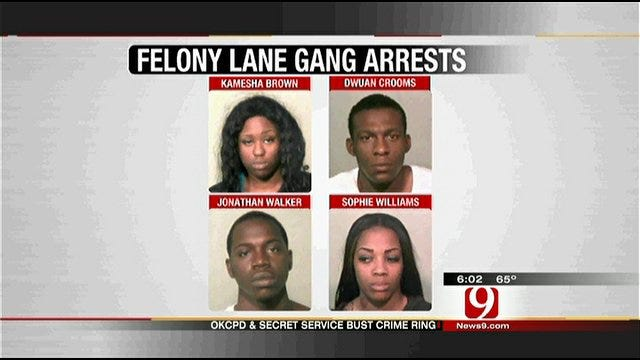 Traffic Stop In OKC Leads To Arrests Of Suspects In Nationwide Crime Ring