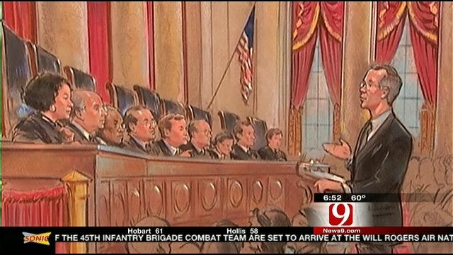 OK Attorney General Speaks About U.S. Supreme Court's Health Care Hearing
