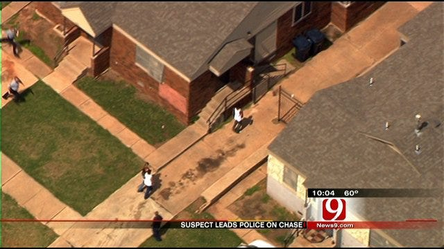 High Speed Police Chase In Oklahoma City Ends In Arrest