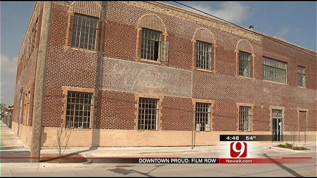 OKC's Film Row Steeped in History