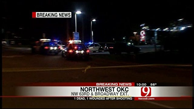 Police Investigate Fatal Shooting At NW OKC Gas Station