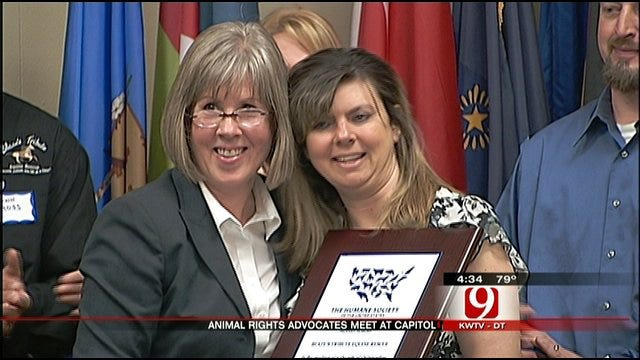Jones Horse Rescue Center Honored At The State Capitol Tuesday