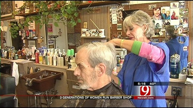 Moore Barbershop Provides Tradition With A Feminine Touch