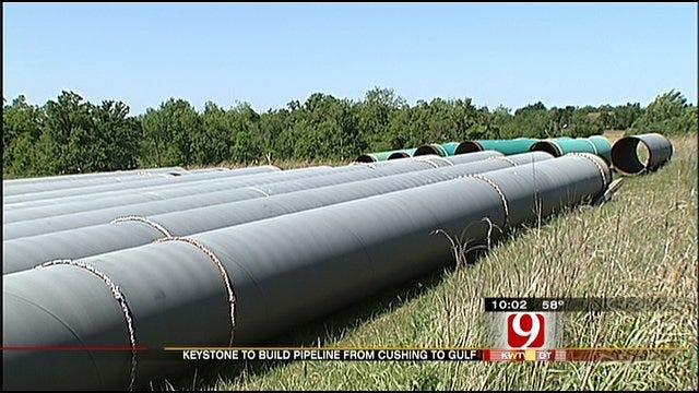 Keystone Pipeline Could Bring Gas Prices Down For Oklahomans