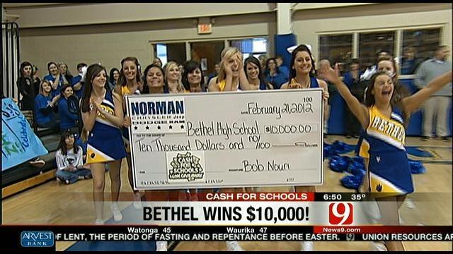 Bethel High School Wins $10K!