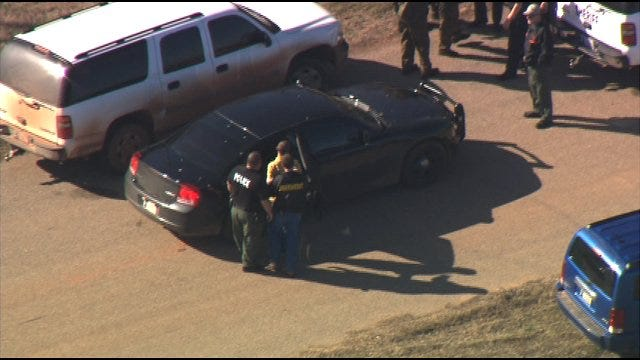 WEB EXTRA: SkyNews 9 Shows Fugitive Caught In Lincoln County