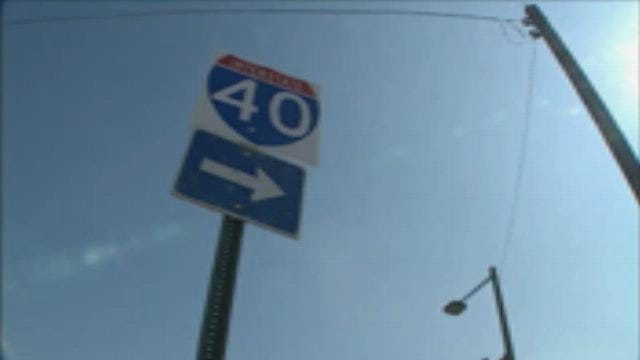 I40 Westbound Lanes In Downtown Officially Open