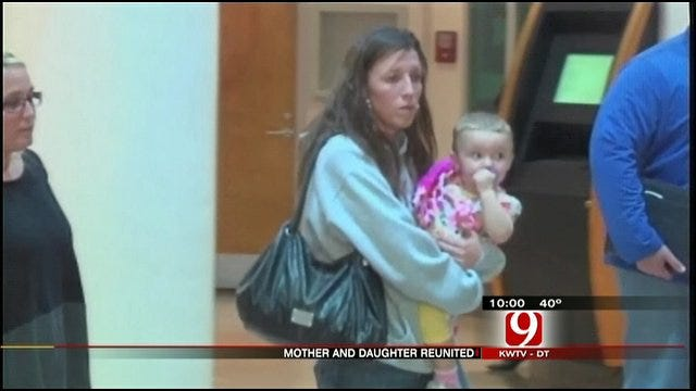 Abducted Waurika Child Reunited With Mother
