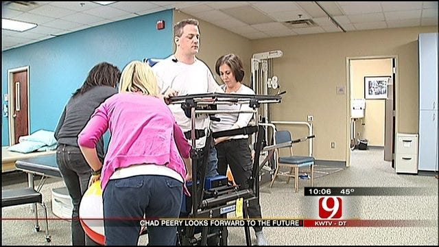 Peery Makes Progress One Year After Violent Attack